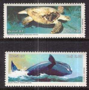 Brazil 2102-2103 Animals MNH VF