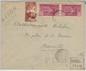 44840 - IVORY COAST Côte d'Ivoire - POSTAL HISTORY -  COVER to FRANCE 1938