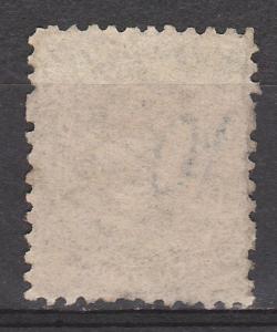 TASMANIA 1870 QV 10D PERF 12 USED