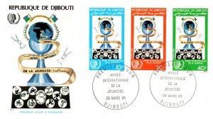 Djibouti, Worldwide First Day Cover