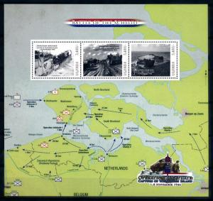 [91902] Uganda  World War 2 Operation Infatuate Walcheren Sheet MNH