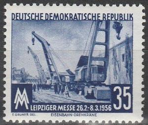 DDR #287  MNH F-VF