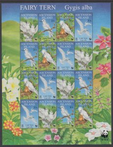 Ascension 728a Birds MNH VF