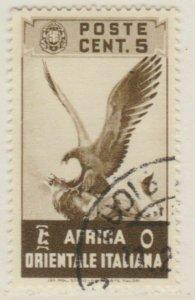 Africa Orientale 1938 5c Usato Italia Colonie Italy Colony A18P14F211