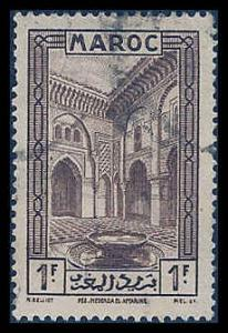 French Morocco 139 Used VF