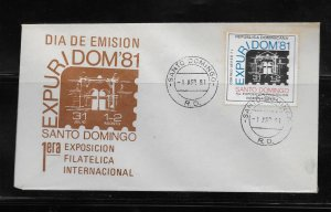 DOMINICAN REPUBLIC STAMP COVER #SEPTG8