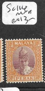 MALAYA PERAK  (P0107B)  30C  SG 116  MNH
