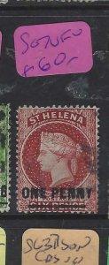 ST HELENA  (P0705BB)  QV 1D   SG  7    VFU