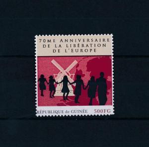 [80870] Guinea 2012 Second World war Liberation Europe Windmill MNH