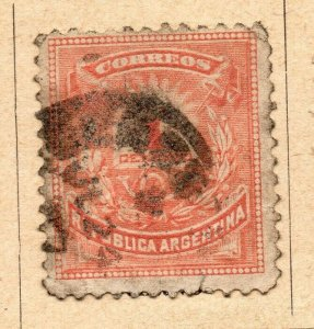 Argentina 1882 Early Issue Fine Used 1c. NW-11796