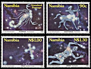 Namibia 808-811, MNH, Constellations