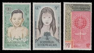 Laos 74 - 76 MNH