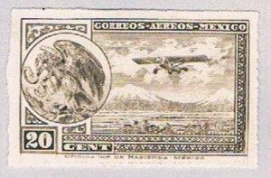 Mexico C23a MLH COA and Plane 1930 (BP51912)