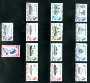 Tristan da Cunha 71-84 MNH SCV $28.50 BIN $15.00