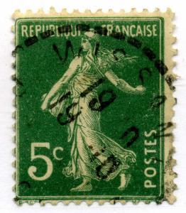 FRANCE - CàD Bureau de Distribution  WISSANT / PAS-DE-CALAIS  sur Yv.137