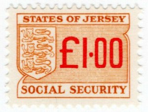 (I.B) Jersey Revenue : Social Security £1.00