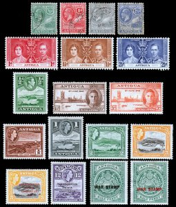 Antigua Scott 42 // MR2 (1916-63) Mint/Used H VF, CV $19.85 B