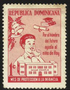 Dominican Republic Postal Tax 1975 Scott# RA73 Used