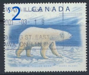 Canada  SG 1759  Used Polar Bear  - Fauna