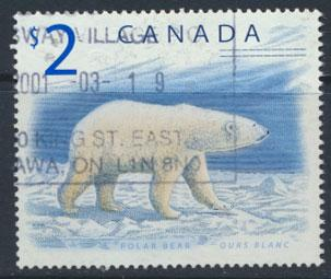 Canada  SG 1759  Used Polar Bear  - Fauna