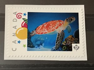Canada Post Picture Postage Mint NH *Red Turtle*  *P* denomination