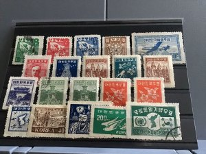 Korea United States military government + republic  Stamps R22999