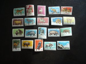 Stamps - Cuba - Scott# 888-907 - Mint Hinged Set of 20 Stamps