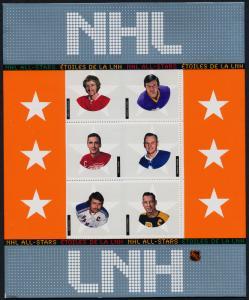Canada 2017 in Presentation Folder MNH NHL All-Stars, Ice Hockey,