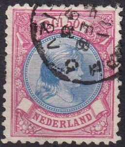 Netherlands #53   F-VF Used  CV $130.00  (Z1212)