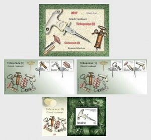 Stamps Romania 2017. - Corkscrews II- (Philatelic Album) - Collectibles