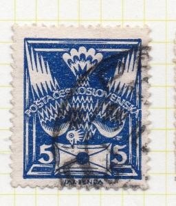 Czechoslovakia 1920-25 Early Issue Fine Used 5h. 101037