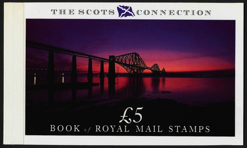 Great Britain BK153 Booklet MNH The Scots Connection