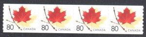 Canada #2009 mint NH --Coil Strip of 4