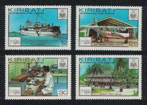 Kiribati Ship Aircraft 'London 1980' International Stamp Exhibition 4v