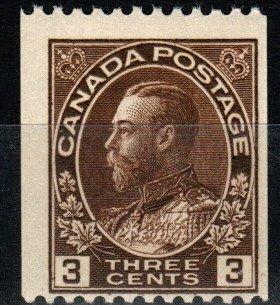 Canada #134 F-VF Unused CV $12.50 (X1066)