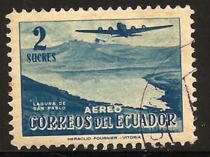 Ecuador Air Mail 1954 Scott# C268 Used