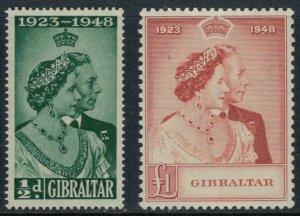 Gibraltar #121-2*  CV $47.50