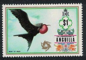 Anguilla Magnificent Frigate Bird 'Man-of-War' 1v $1 SG#142