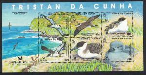 Tristan da Cunha Great Shearwater BirdLife II MS SG#MS883