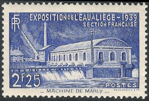 FRANCE SG#644 INTERNATIONAL WATER EXHIBITION (1939) MNH