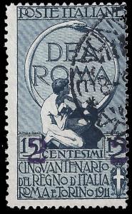 Italy 1913 Sc 128 uvg
