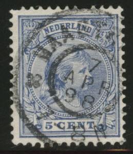 Netherlands Scott 41 used 1894 issue