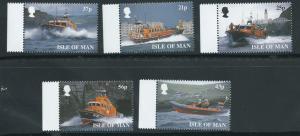 Isle of Man MUH SG 832 - 837  ex 836 and 838  margin copy