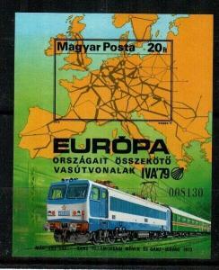 Hungary Scott 2580 Imperf (Catalog Value $50.00)