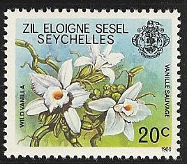 Seychelles Zil Elwannyen Sesel  mnh 4