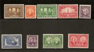 CANADA  #135,141,142,143,144,145,146,147,148, STAMPS MNH &H  LOT#520