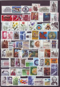 Z829  JLstamps 1977-up germany berlin lot with some sets & semi,s mnh #9n408-up