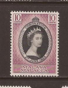 Malaya - Malacca Scott #27 m/nh Stock #T37818