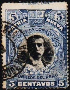Peru. .1920 5c S.G.417 Fine Used