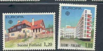 Finland Sc 608-9 1978 Europa stamp set mint NH